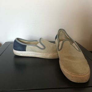 Gap slip on sneakers light blue and navy